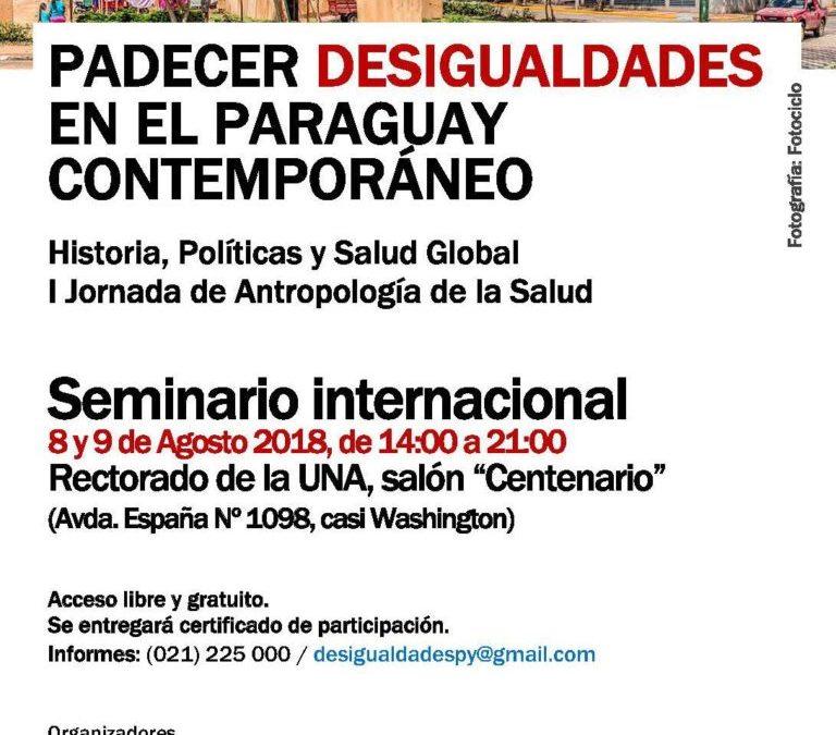Conozca a los invitados internacionales de la I Jornada de Antropología de la Salud