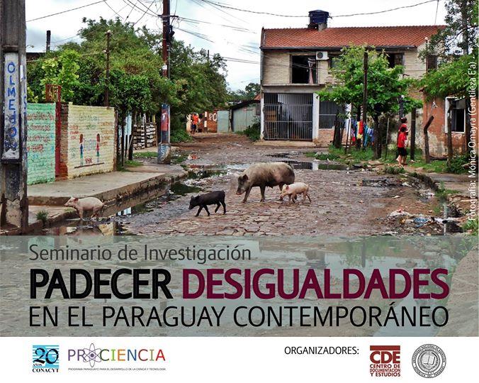 Seminario analizará desigualdad en Paraguay