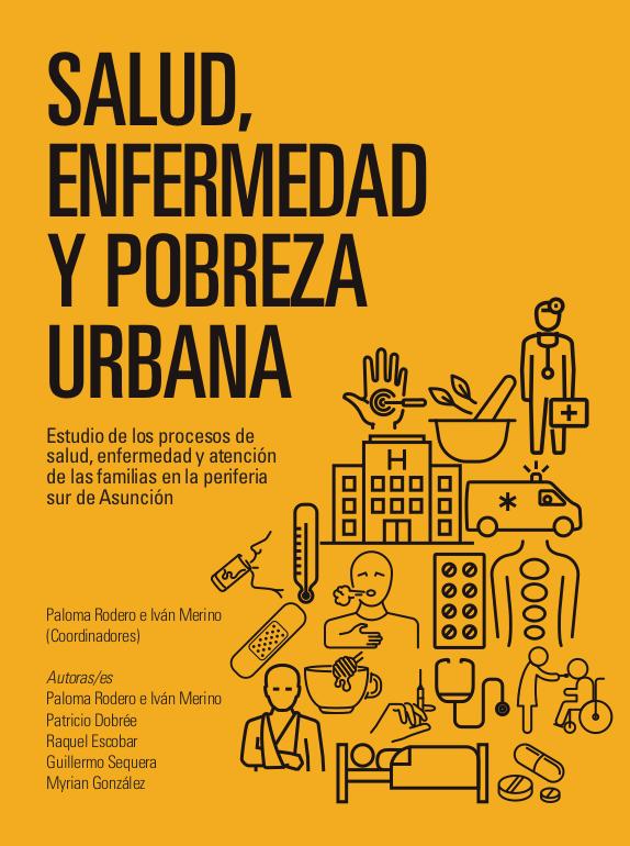 Tapa del libro Salud, enfermedad y pobreza urbana